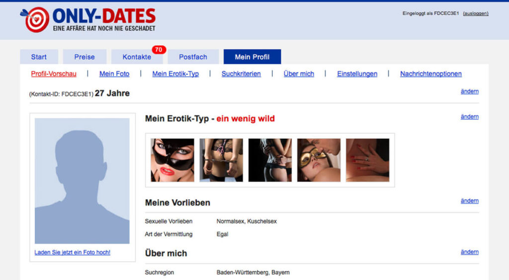 Only-Dates-Mein-Profil