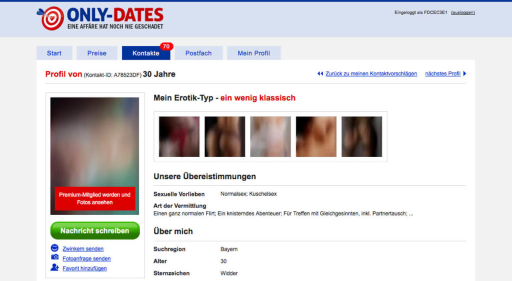 Only-Dates-Profil