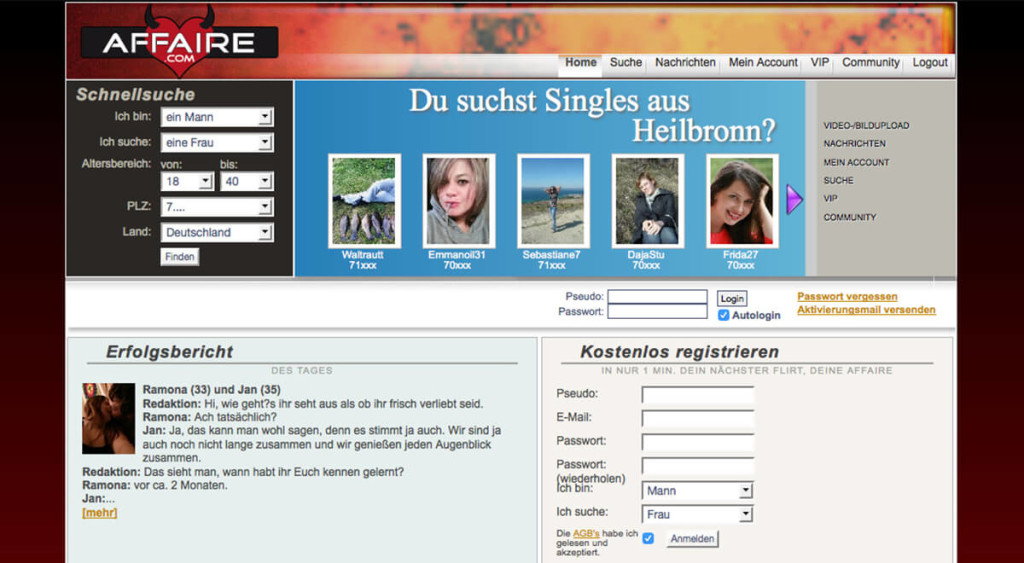 kosten dating portale Erkrath