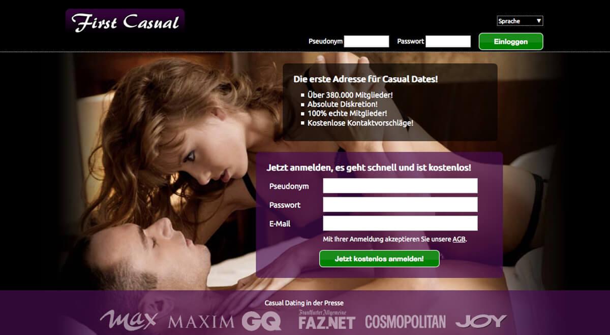 Test casual dating seiten Achtung: Das sind die besten Casual-Dating Portale -