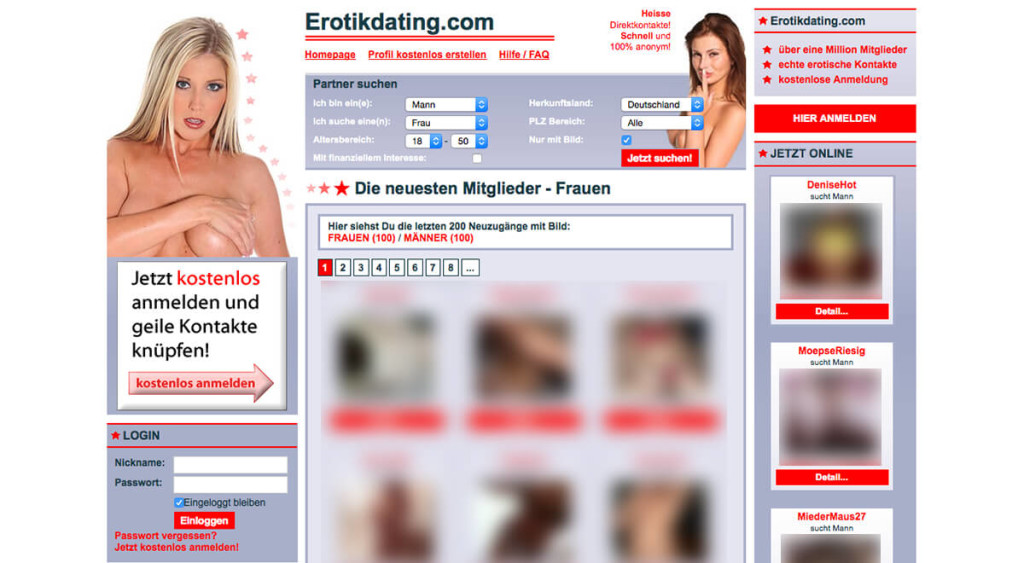 ErotikDating.com-Main
