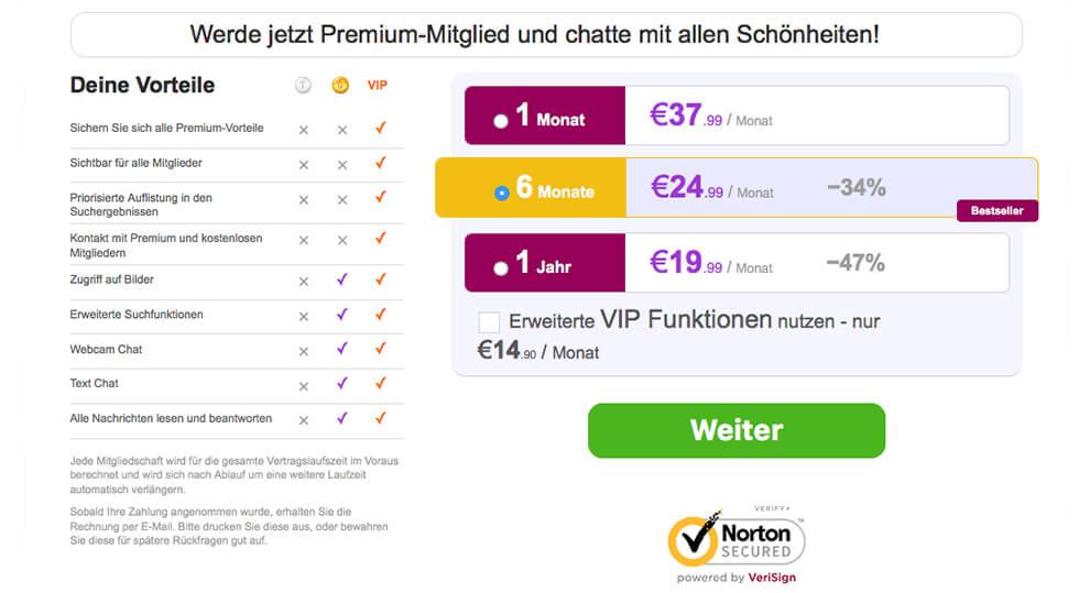 onematch.de-Kosten