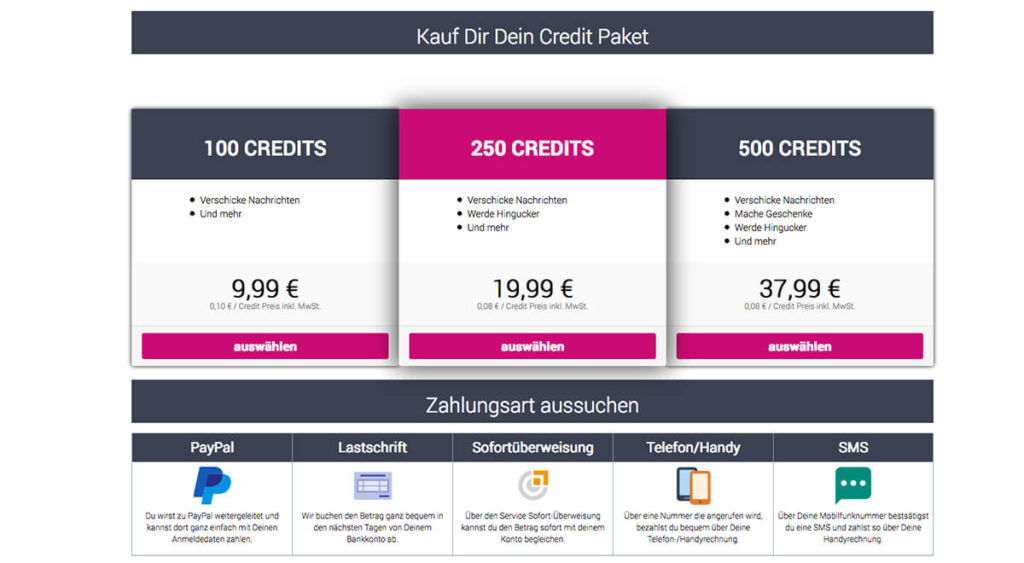 leaffair-kosten